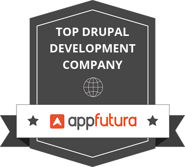 Top Drupal Development Companies listed on AppFutura.