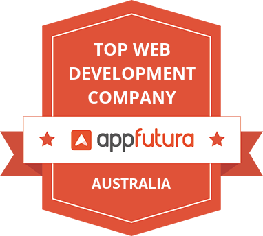 AppFutura Top Web Company in Australia Badge