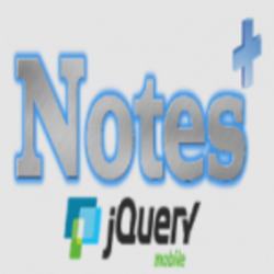 Notes plus with Jquery Mobile