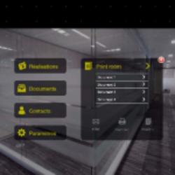 Ishowroom an architecture showroom on ipad appfutura - Application architecture ipad ...
