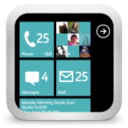 GOSMS WP8 Teal Theme