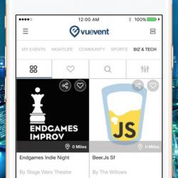 Vuevent - find events and attend festivals