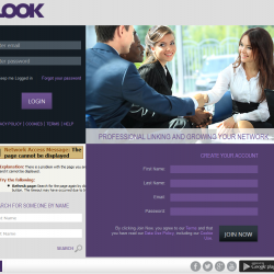 iLook- Social networking app (Linkedin)