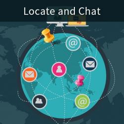 Locate & Chat App