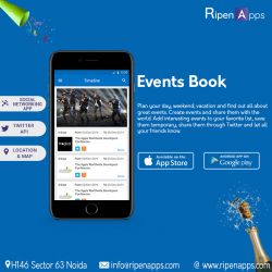 Events Book Application
