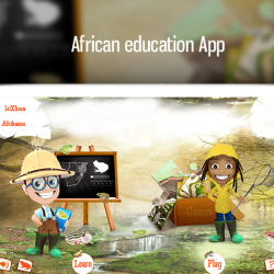African education App - Frogs