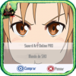 Sword Art Online PRO Theme GO Launcher