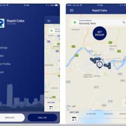 Booking Taxi App