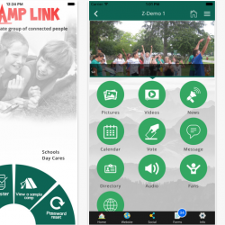 myCamplink mobile app - a marketplace for Camps & Campers