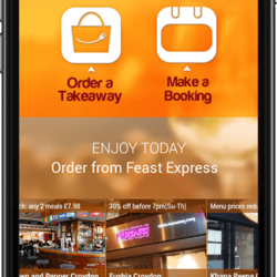 Online Food Ordering Mobile App
