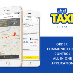 TaxiChat Driver. iOS | Android mob app