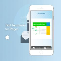 Text Templates for pages