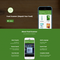 Food Scanner (Unpack Your Food)