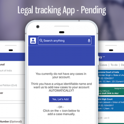 Legal Tracking App