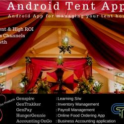 Tent House and Event Management application