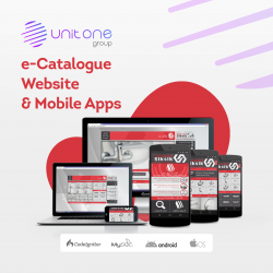eCatalog Web and Mobile APP