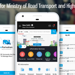 App for Ministry of Road Transport and Highways
