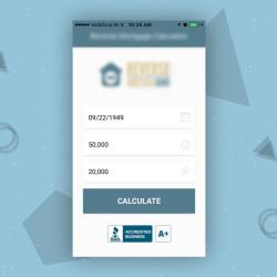 Reverse Mortgage Calculator Mobile App