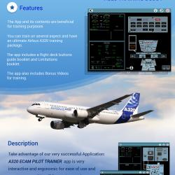 Airbus A320 Flight deck simulator (Aerospace)
