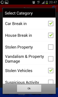 Crime Shield – Android App