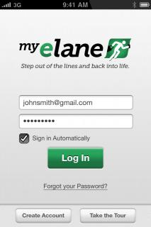 My Elane – Advanced Ordering IPhone/Android Application & Website