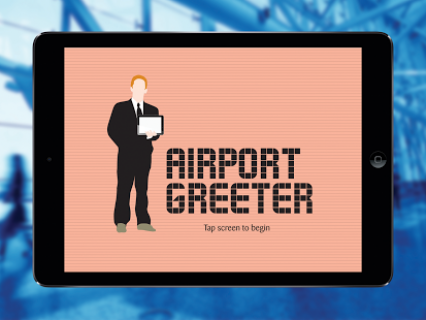 airport greeter android app appfutura