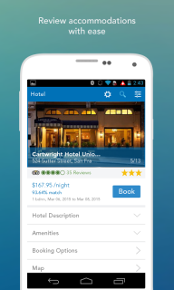 Hotel Finder & Booking App