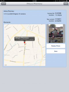 YellowPages Geolocation App