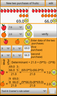 Apples and oranges first decimal