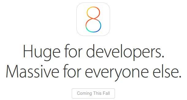 iOS 8 Cover