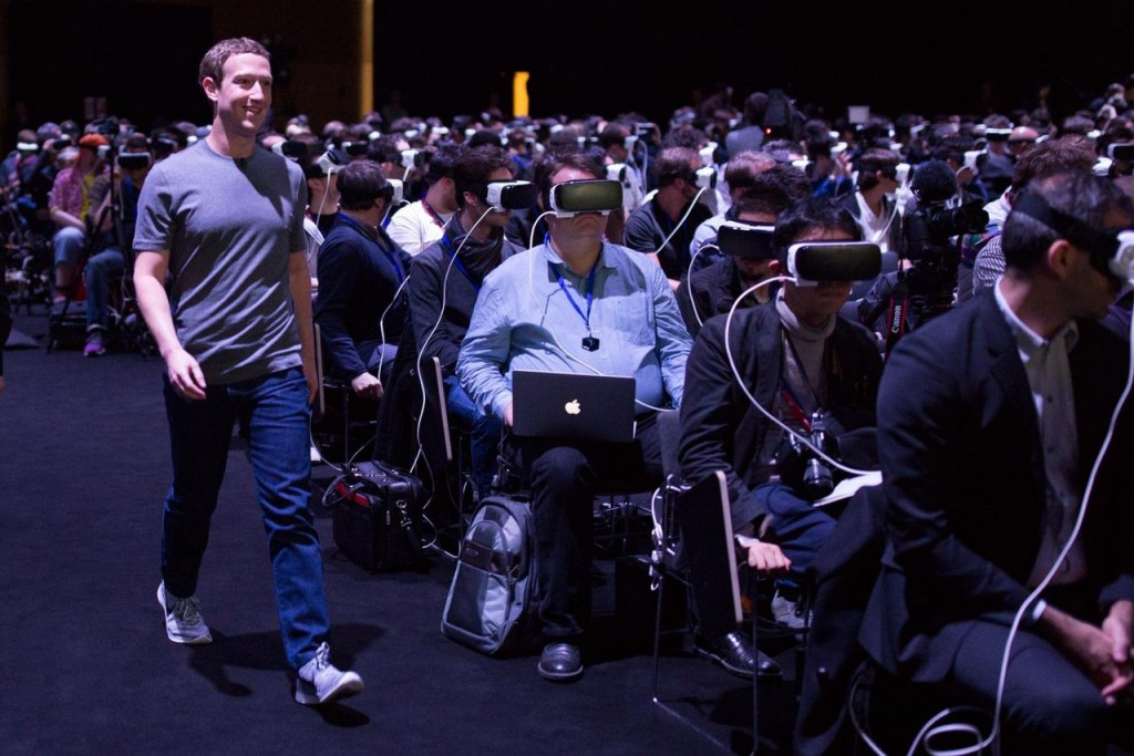 Mark Zuckerberg VR