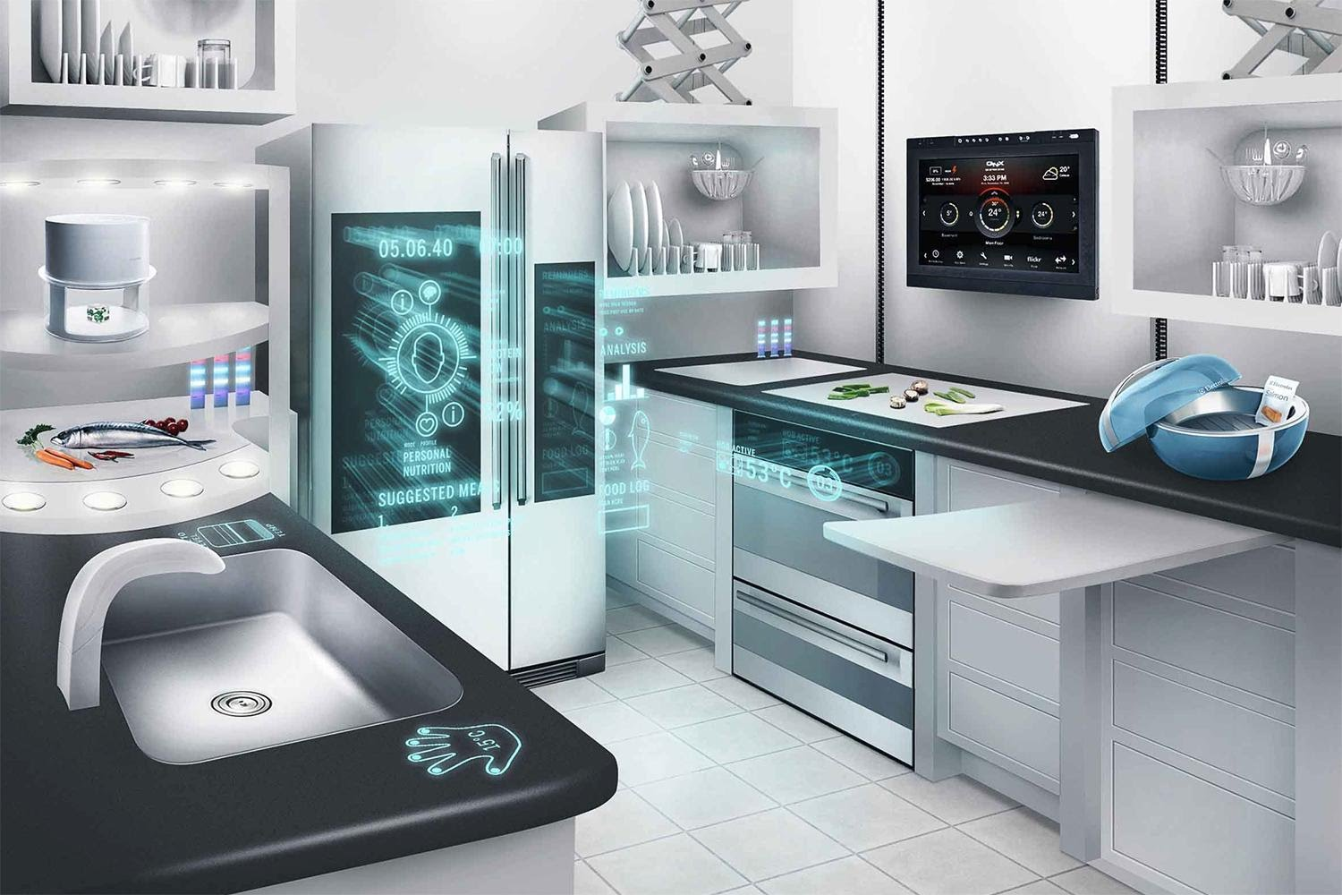 home automation kitchen
