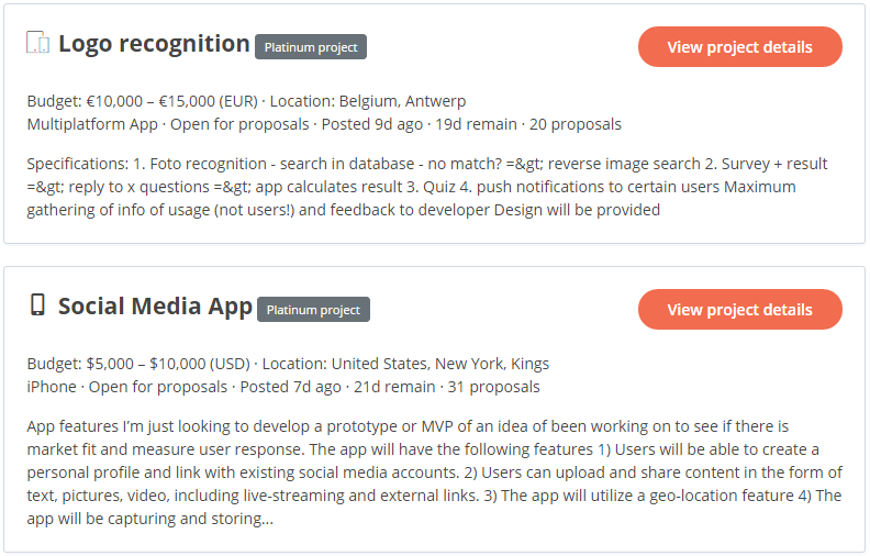 AppFutura Tips: The new categorization of our mobile app projects