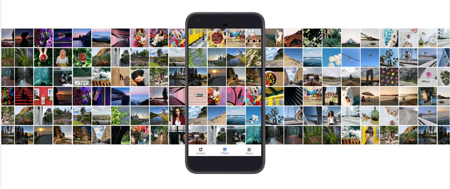 Google Photo storage