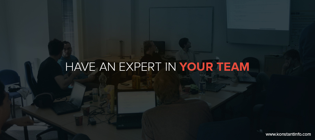 Have an expert in your team