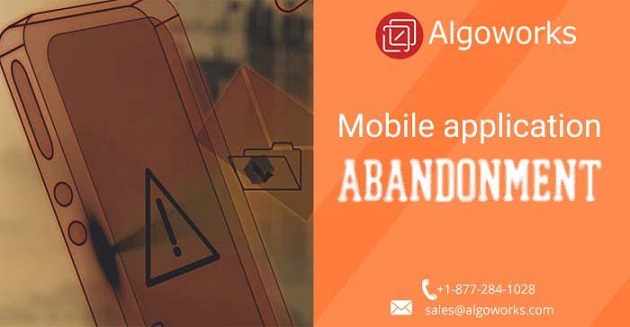 app abandonment Algoworks