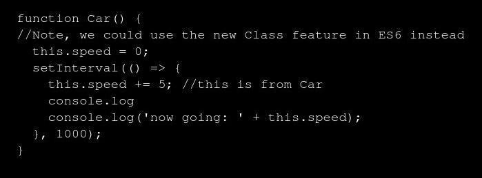 arrow function rewritten
