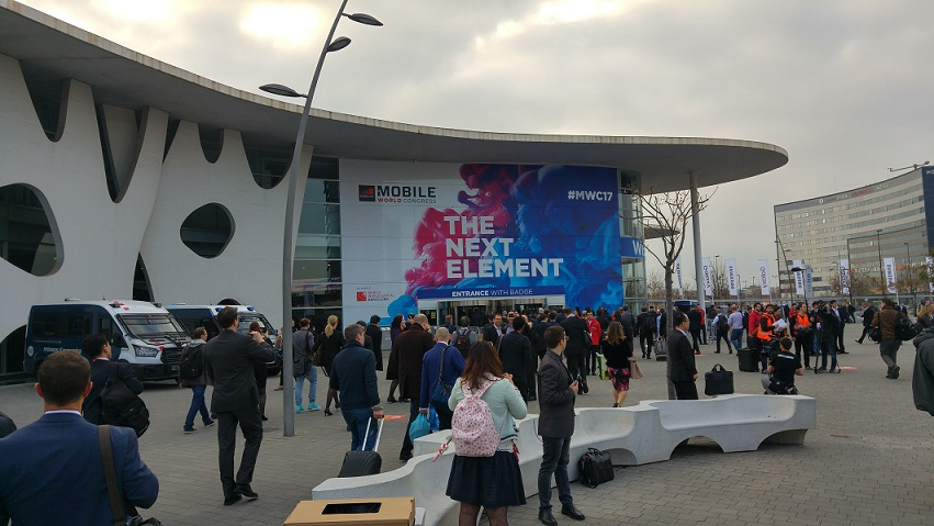 Mobile World Congress entrance