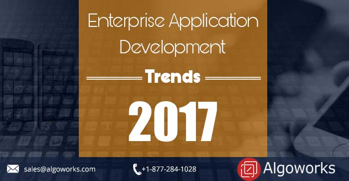 Mobile app development trends by Algoworks