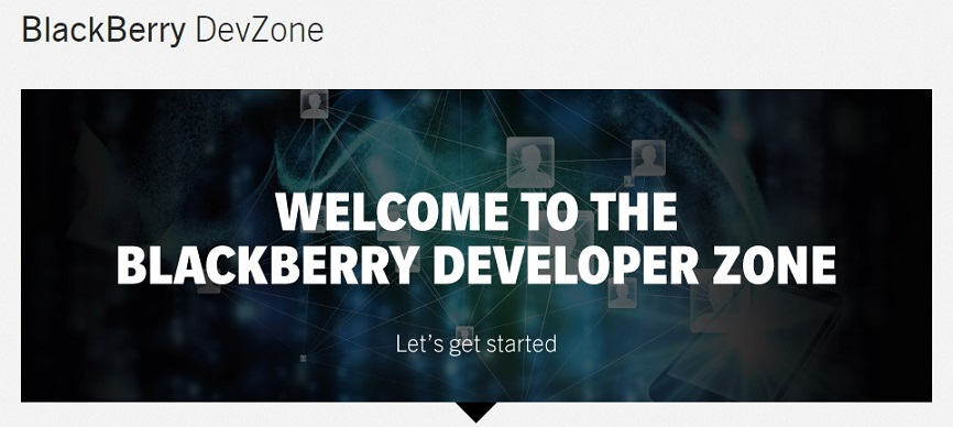blackberry devzone
