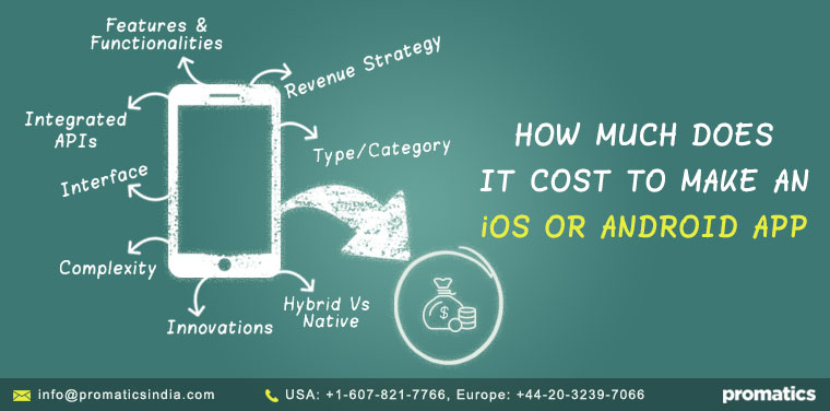 An app cost by Promatics Technologies