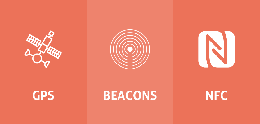 GPS vs Beacon vs NFC