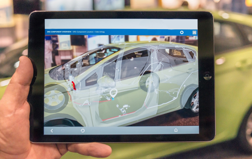 Augmented Reality in the transport industry