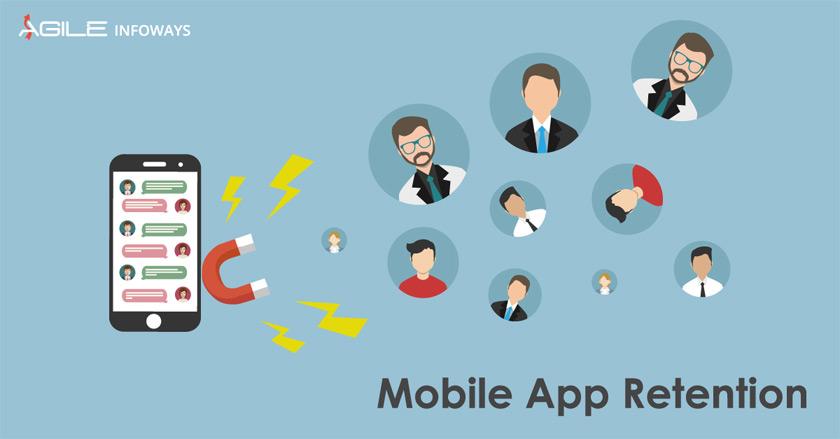 Mobile app retention
