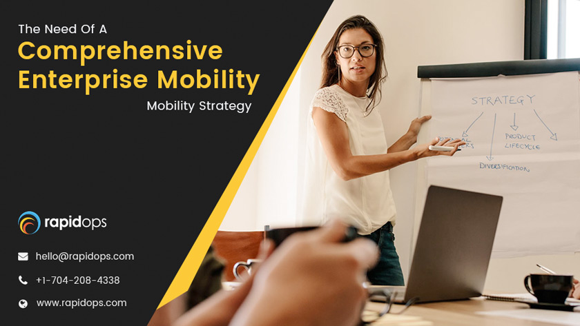 The need of a comprehensive enterprise mobility strategy