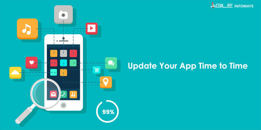 Update your app time to time