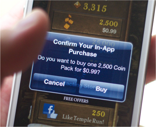 Why spending money on in-app purchases is a good idea