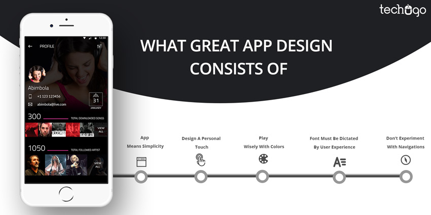 What makes an app design great?