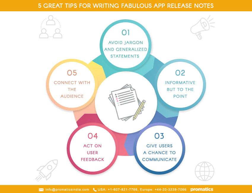App release notes are not as trivial as you think: A guide on how to write them perfectly