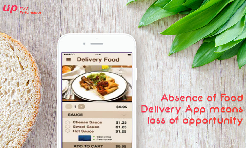 Absence of Food Delivery app means loss of opportunity